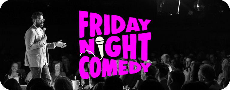 Friday Night Comedy at the Glee