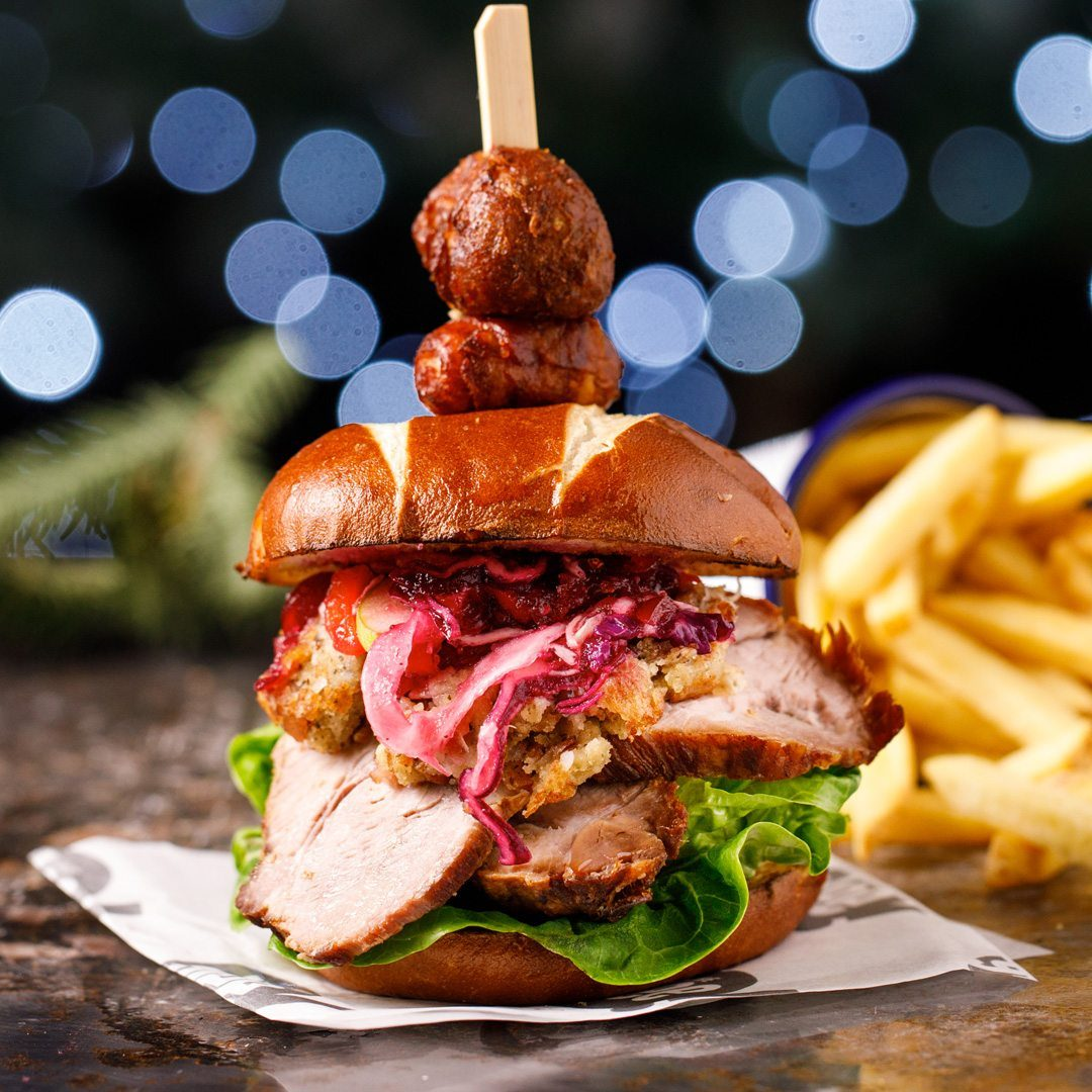 Hog Roast Burger