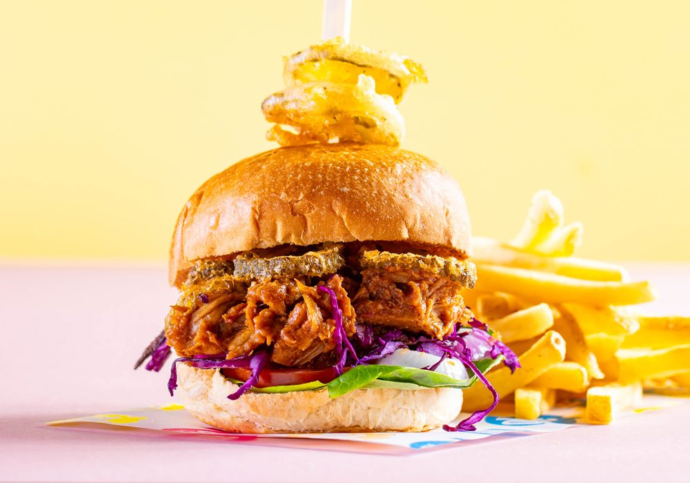 Jackfruit-Burger