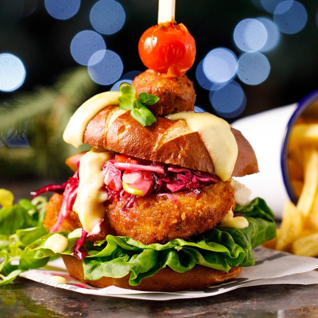 Veggie Schnitzel Burger